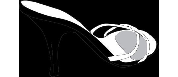 Almohadilla para planta del pie y tacones