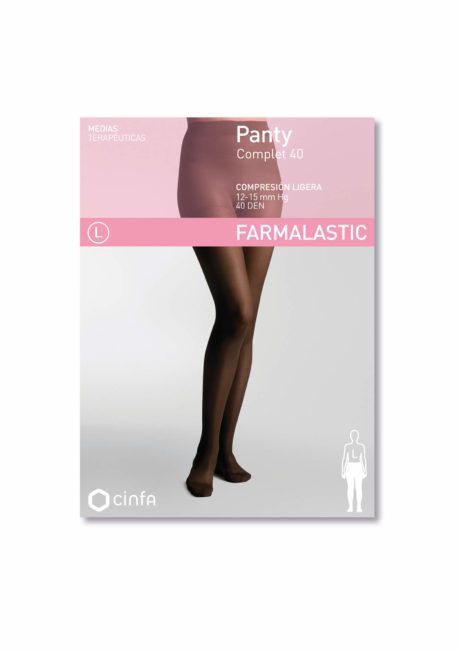Panty de compresión ligera 40 DEN de Farmalastic Classic