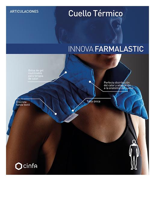 Cuello térmico para dolor y las molestias cervicales