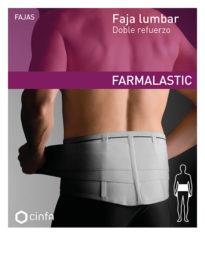 Faja lumbar con doble refuerzo para dolor moderado-severo de espalda