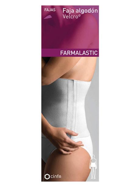 Pack de la Faja de Algodón con Velcro para dolores leves de espalda