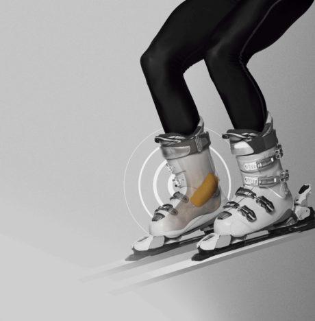 Protectores para el lateral del tobillo diseñados para esquí, snowboard, patinaje, alpinismo