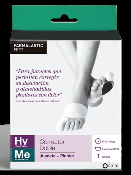 Para juanetes que permiten corregir su desviación y almohadillas plantares con dolor