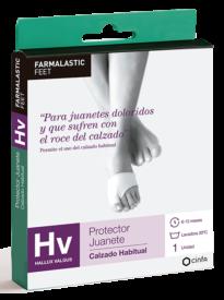Protector para juanetes doloridos y que sufren con el roce del calzado