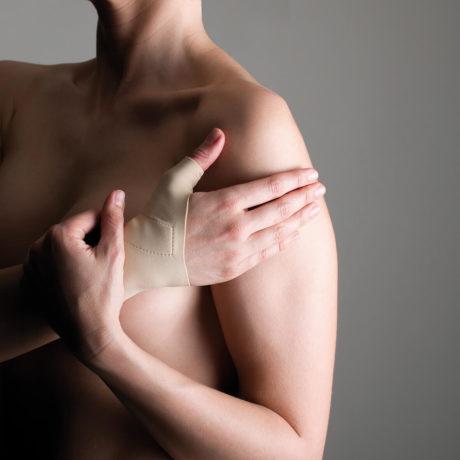 Muñequera para Rizartrosis. Absorve los movimientos que generan dolor