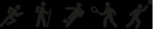 Deportes en los que se puede emplear el Estabilizador de tobillo de Farmalastic