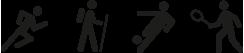 Deportes de impacto con los que se puede emplear el Tendón correcto de juanete Farmalastic