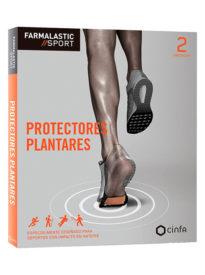 Protector de planta de pie diseñado para derpotes con impacto en el antepié