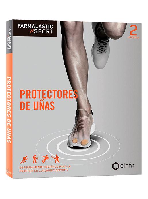 Protectors de uñas del pie para deportes de impacto en los dedos