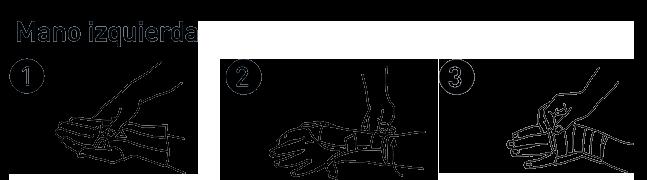 Cómo colocar la Muñequera Metacarpiana Innova Farmalastic en la mano izquierda